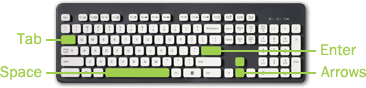 Keyboard Guide Small